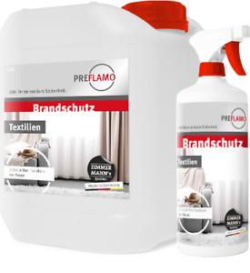 PREFLAMO® Flammschutz Brandschutz Brandschutzimprägnierung Brandschutzmittel