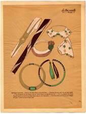 Art Déco-Accessoires-Mode-Mannequin-Model Litho 1930
