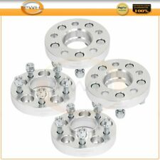 4Pcs 1'' 25mm Hubcentric Wheel Spacers 5x110 12x1.5 For 2005-2010 Pontiac G6