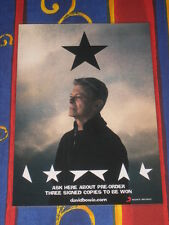 David Bowie - Blackstar - Black Star - Laminated Promo Poster