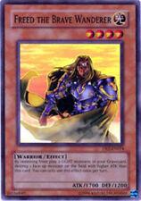 Freed the Brave Wanderer DR2-EN014 Super Rare Unlimited Edition Lightly Played