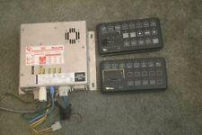 Whelen Cencom amplifier relay W/ Traffic Adv and 2 control heads