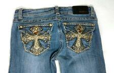 La Idol Embellished  jeans size 28 Bling pocket.