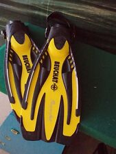 Beuchat Power Jet fins Yellow and Black - size XL