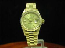 Rolex Lady Datejust 18kt 750 Gold Automatic Damenuhr / Ref 69178 / Kaliber 2135
