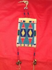 Reproduction Native American  Beaded Document Bag  excellent condition