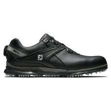 FootJoy Pro SL BOA Golf Shoes Black 9.5 Wide Preowned Worn 1 Round