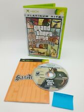 New listing Grand Theft Auto: San Andreas (Microsoft Xbox, 2005) w/ Case & Manual
