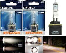 Sylvania Silverstar 893 H27 37.5W Two Bulbs Fog Light Replacement Upgrade Lamp