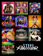 "STEEL PANTHER album discography magnet (4.5"" x 3.5"")"