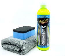 MEGUIAR'S CERAMIC hybrid wax set con Applicator & Panno