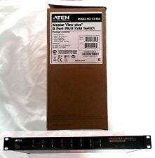 Aten Master View Plus - 8 port USB PS/2 VGA KVM Switch - Mod. CS88A