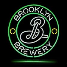 "New Brooklyn Brewery Beer Lager Lamp Neon Light Sign 20""x20"" Bar Beer"
