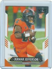 2021 Score #320 Jermar Jefferson Rc Oregon State Beavers Football Card
