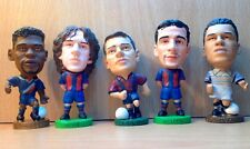 CORINTHIAN JOB LOT OF 5 BARCELONA PROSTAR FOOTBALL FIGURES LOT 21