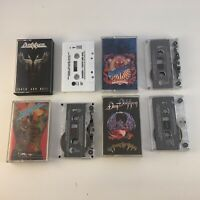 Dokken Cassette Lot : Tooth & Nail/Beast from East/Back for Attack/Up Ashes
