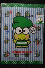 Sanrio Kero KeroKero Keroppi A4 Clear File Folder Set 2 Files - Emotions