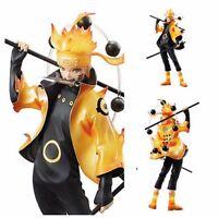 """Anime Uzumaki Naruto Rikudo Sennin Figure Mode Ver. 22cm/9"""" 1/7 PVC New In Box"""