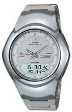 Casio Wavecaptor, WVA-104HDE-7AVER, Automatic Timekeeping, Four Daily Alarms