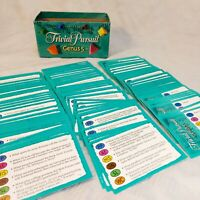 100 Trivial Pursuit Genus 5 Edition Trivia Cards Refill Replacements