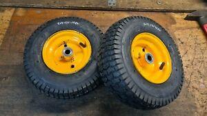 Aufsitzmäher Rasentraktor Rad Reifen NEU Räder 13x5.00-6 19 mm Rally Einhell AYP