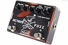 USED CUSTOM SHOP MXR SF01 SLASH OCTAVE FUZZ PEDAL w/ FREE CABLE FREE US SHIPPING