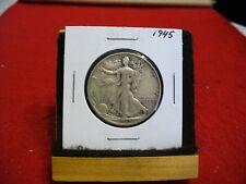 1945  WALKER  LIBERTY WALKING  HALF  DOLLAR      50 CENT PIECE   COIN  45