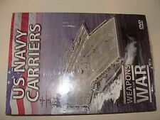 Advertising Sample! DVD U S Navy Carriers Weapons of War NEW Sealed