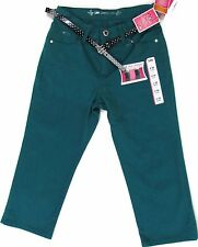 Womens Capris Size 12 Lee Belted Colored