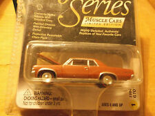 JOHNNY LIGHTNING GOLD SERIES MUSCLE CAR LIMITED EDITION 1964 PONTIAC GTO