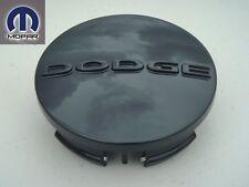DODGE CHARGER CHALLENGER MAGNUM 2005-2013 ALUMINUM ALLOY WHEEL CENTER CAP BLACK