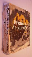 Livre FRISON - ROCHE - Premier de cordée- ARTHAUD 1966 - Montagne - Alpinisme