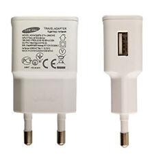 Caricabatterie Bianco 10W ORIGINALE SAMSUNG alimentatore per Acer Liquid Z3 BK1
