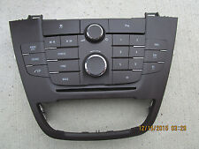 11 - 13 BUICK REGAL CXL DASH CD PLAYER RADIO FACE PLATE CONTROLLER P/N 13277916