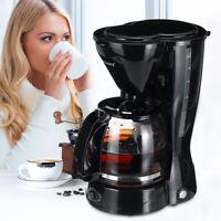 10-12 Cups Electric Drip Coffee Tea Espresso Maker Pot Auto Percolator