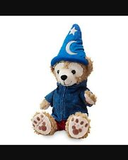 Disney Park 2016 DUFFY Bear Plush toy with Sorcerer hat and hoodie jacket Mickey