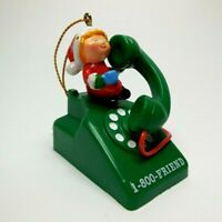 Christmas Ornament Someone Special 1-800-Friend Elf on Rotary Phone
