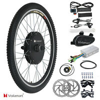 48V Front Wheel DIY Electric Bicycle Motor Conversion Kit 1000W Ebike Cycling BP