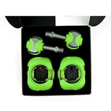 Speedplay Zero Stainless Steel Road Bike Cycling Pedals - Walkable Cleats Team Green