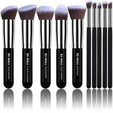 As Morphe Set - Makeup Brushes Premium 10 Pcs Foundation Powder Concealer