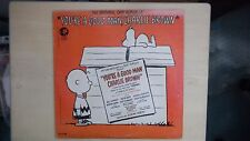 MGM Records Original Cast Album of YOU'RE A GOOD MAN CHARLIE BROWN LP 1950