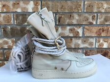 Men's Nike Air Force 1 SF AF1 HI Special Field Rattan Rattan Size 9.5 AA1128-200
