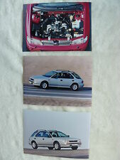 Subaru Impreza - 3x Presse-Fotos press-photos 1996 (S0056
