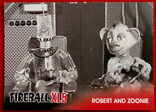 FIREBALL XL5 - Base Card #10 - ROBERT & ZOONIE - Gerry Anderson Collection 2017