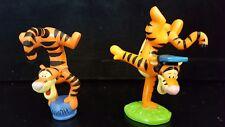 "Disney Winnie the Pooh Figures PVC  3"" --  2 Tiggers standing on hand"