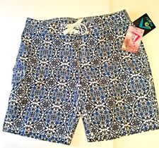 WOMAN'S KANU SURF BOARD SHORTS JULIETTE NEW WITH TAGS ATTACHED SIZE 12