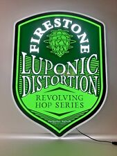 """FIRESTONE WALKER Brewing Co ~ Luponic Distortion ~ LED Sign ~ NEW  ~ 23"""" x 17"""""""