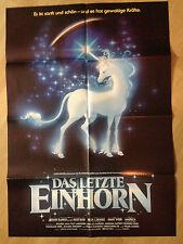 Filmposter * Kinoplakat * A1 * Das letzte Einhorn * EA 1983 * Motiv A
