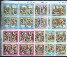 Paraguay -Religios Painting 7 stamps in block of 4, MNH, PG 003