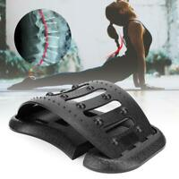 NEW Back  Stretcher Lower Lumbar Pain Spine Massager Support Posture Relief